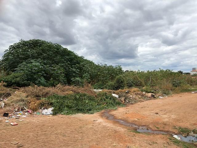Morador do Tiradentes revela abandono nas ruas do bairro, em Juazeiro do Norte