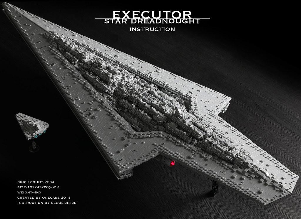 INSTRUCTIONS] Executor class Star Dreadnought - LEGO Star