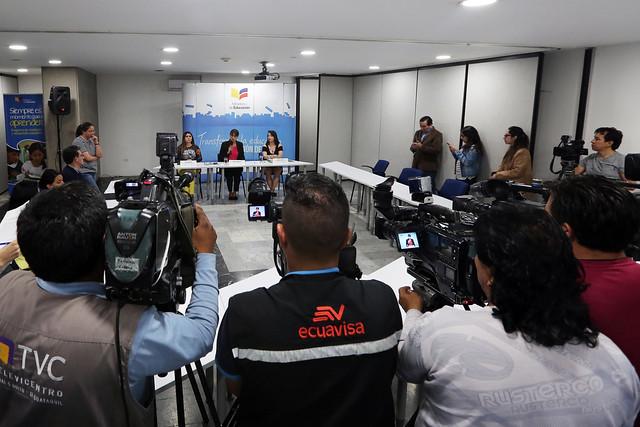 Rueda de Prensa Terminación Unilateral y anticipada del contrato entre Ministerio de Educación y la Empresa China Railway
