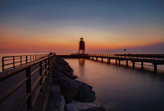 Sundown at the Lighthouse