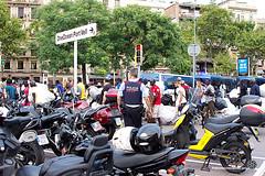 2018_08_12-Despliegue policial en la Barceloneta en contra de la venta ambulante-Manuel Roldán-07