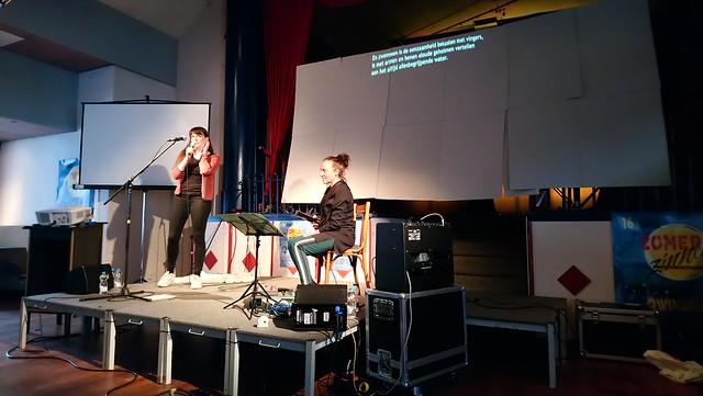 Ellen Deckwitz met Corrie van Binsbergen