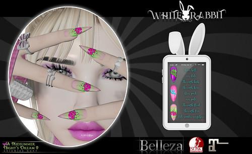 !White Rabbit Nails - Titania