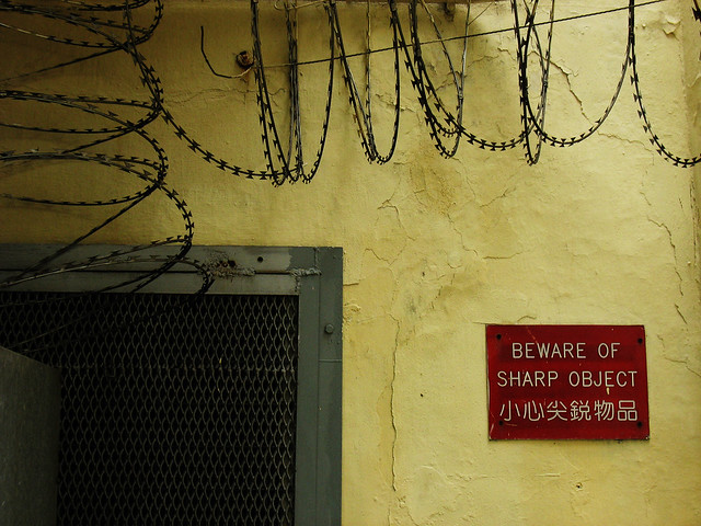 Victoria Prison 域多利監獄 2006. Hong Kong, Canon POWERSHOT A610