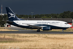 9H-OME Montenegro Airlines opb Air X Charter Boeing 737-505 (FRA - EDD