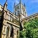 Southwark Cathedral, near Borough Market and London Bridge, London England
