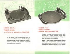 Garrard Brochure 1953 c