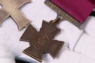Captain Alfred Shout's Victoria Cross medal