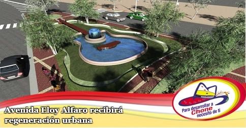 Avenida Eloy Alfaro recibirá regeneración urbana