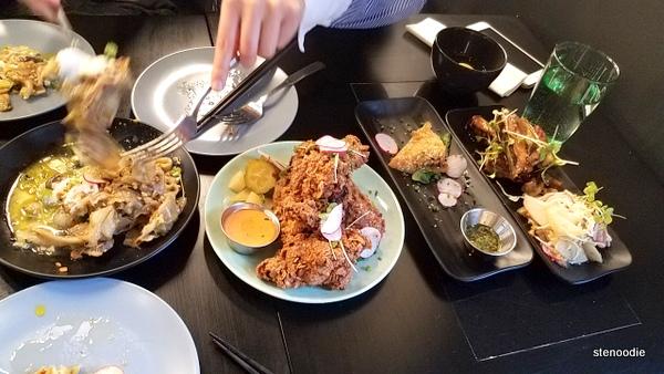 Azyun Restaurant dinner tapas
