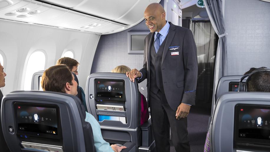 American Airlines Boeing 777-300ER Premium Economy