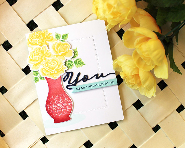LizzieJones_PapertreyInk_SimpleToSpectacular_June2018_TheSweetLife_YouMeanTheWorldCard