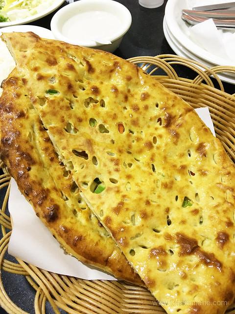 Cheese Naan from New Sarhad Darbar