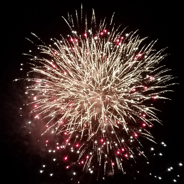 4th of July fireworks in Mifflinburg, PA
