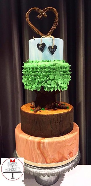 A Cake for a Nature Lover from Cakes by Shannon - Olympia