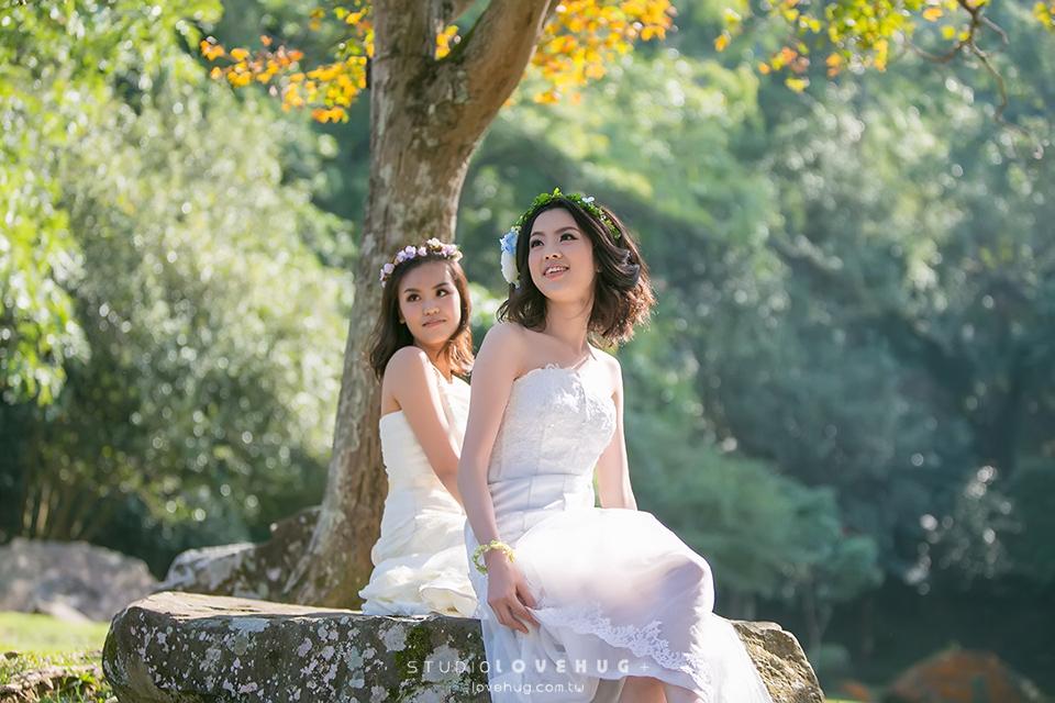 閨蜜婚紗,微婚紗,自助,石門水庫