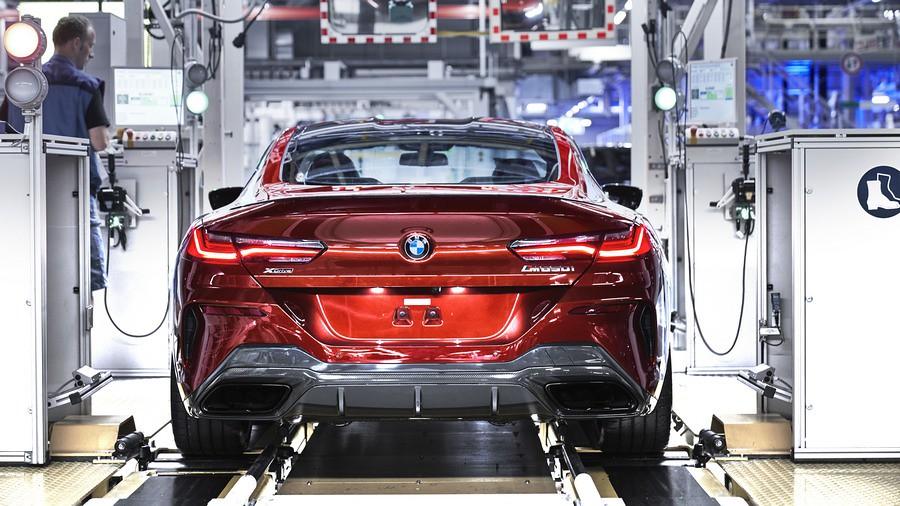 BMW serija 8 proizvodstvo 2
