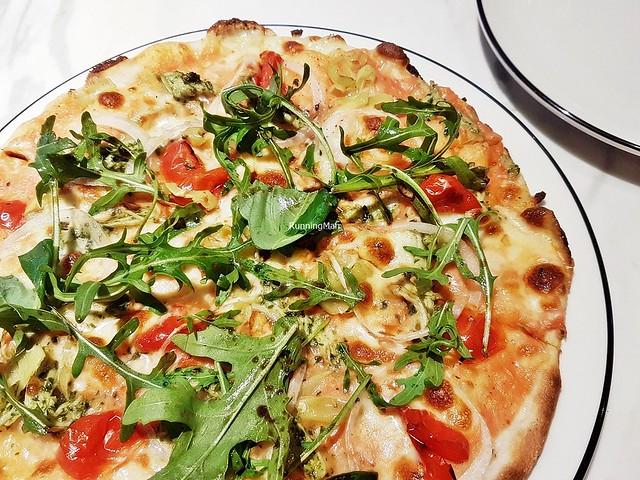 Pizza Genovese Di Pollo Pesto
