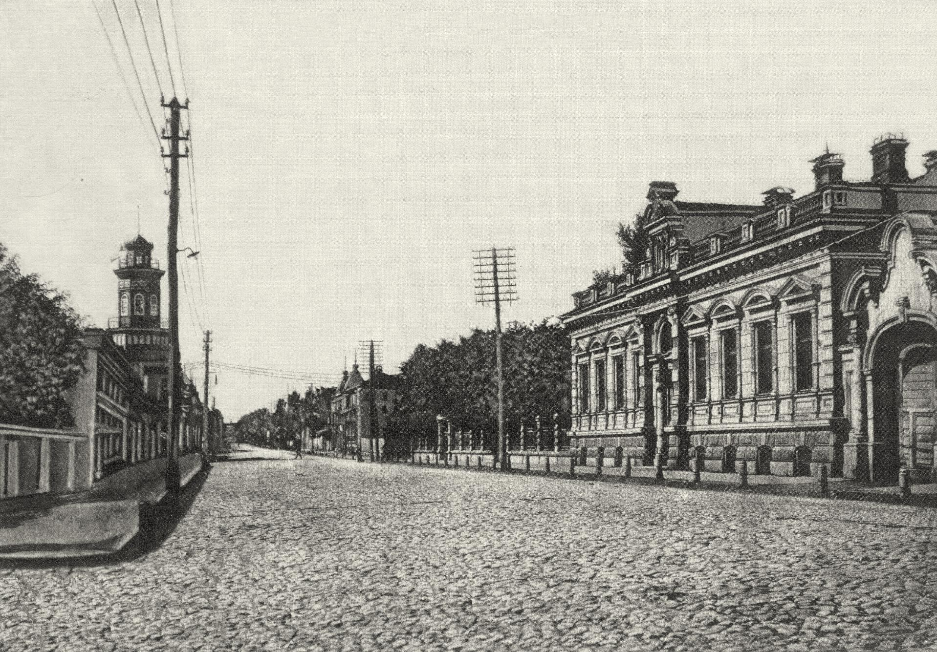 Петропавловская улица. Усадьба Суханова
