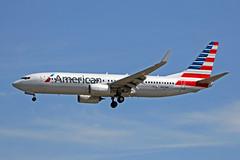 N950NN Boeing 737-823W American Airlines YVR 17JUN18