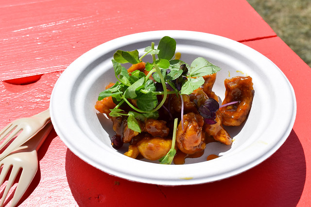 Duddells Crispy Cointreau Pork at Taste of London #pork #crispypork #contreau #tasteoflondon