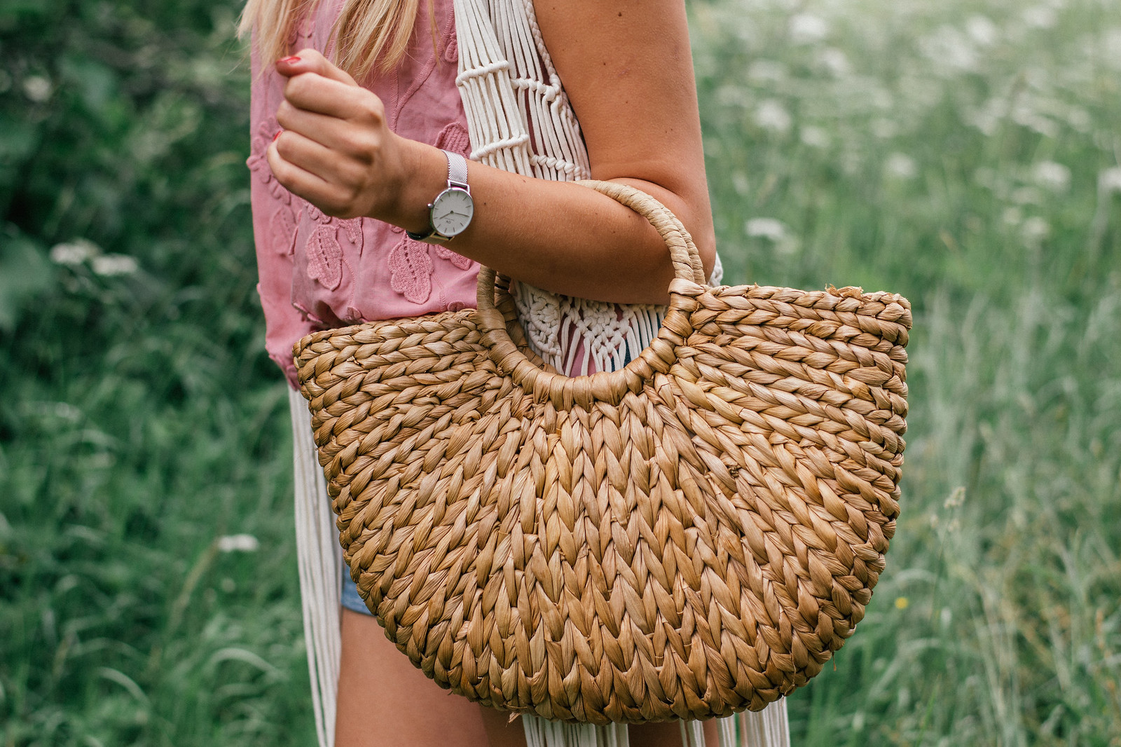 eBay straw bag review