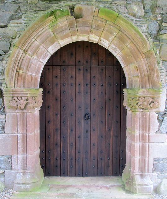 Glenluce Abbey Door