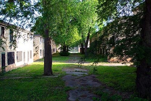 The Abandoned Row Houses Of Cabrini Green #StreetPhotography #Photography #Nikon #NikonPhotography #Chicago #CabriniGreen #thehood #postapocalyptic