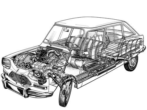 citroen-ami-8-cutaway