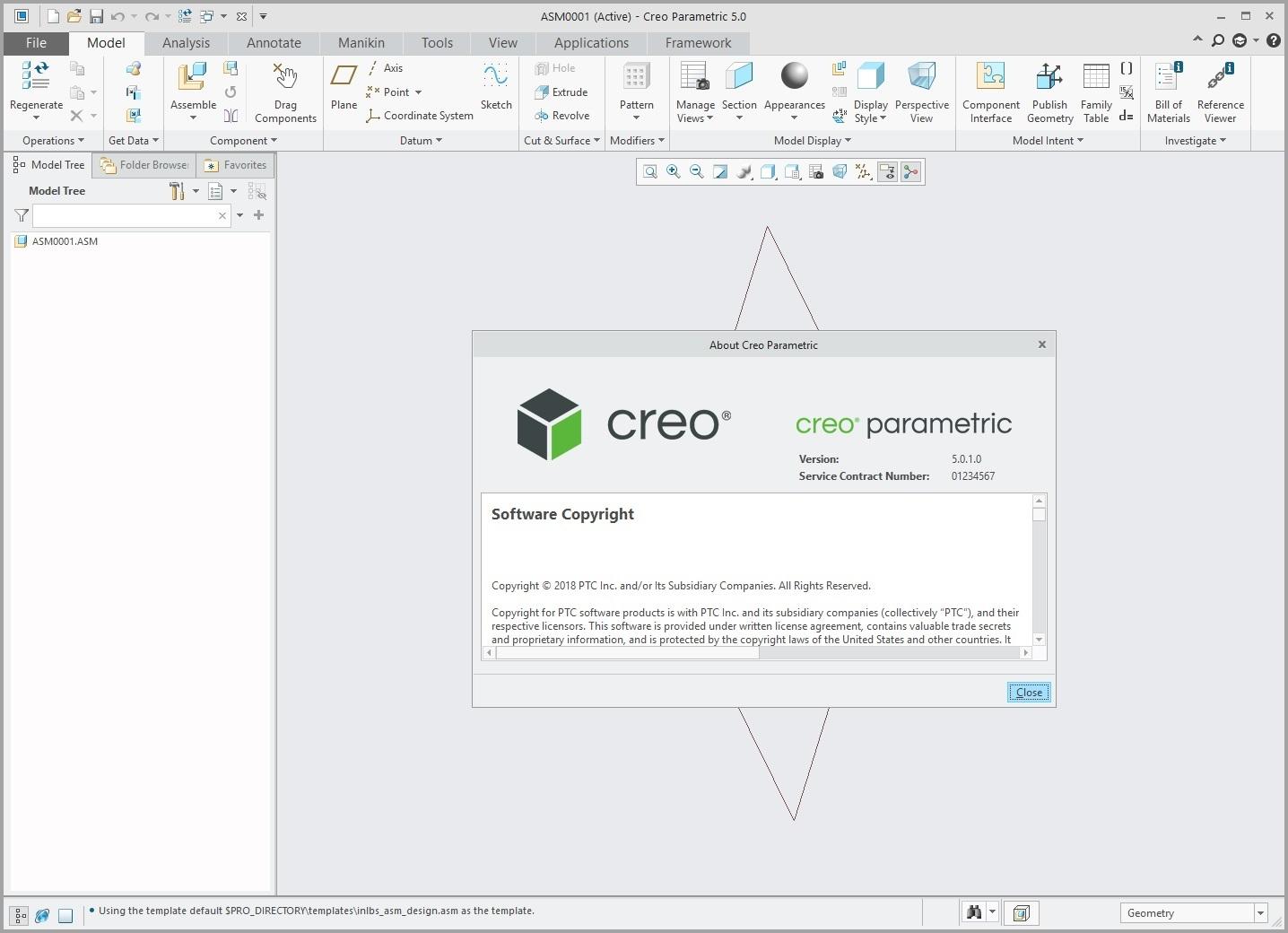 Design with PTC Creo parametric 5.0.1.0 x64 full
