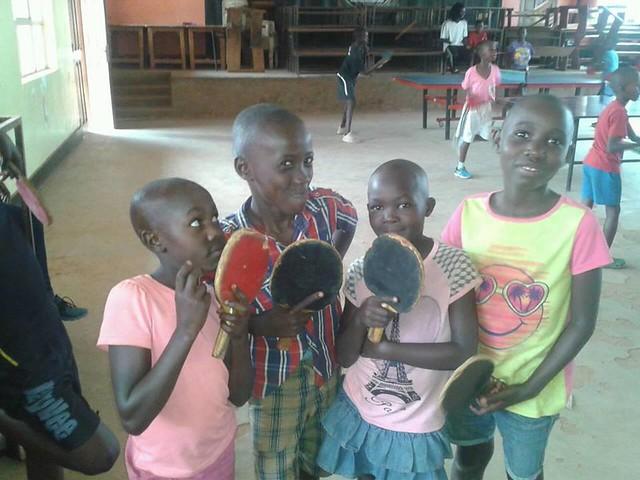 Uganda - Slump table tennis