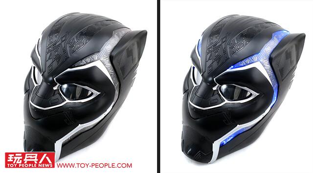 戴上這個,你也可以交叉雙手大喊「瓦干達萬歲!」孩之寶漫威傳奇收藏道具「黑豹頭盔」