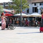 """""""Hand to hand"""", démonstration de flamenco entre personnes en situation de handicap et personnes valides"""