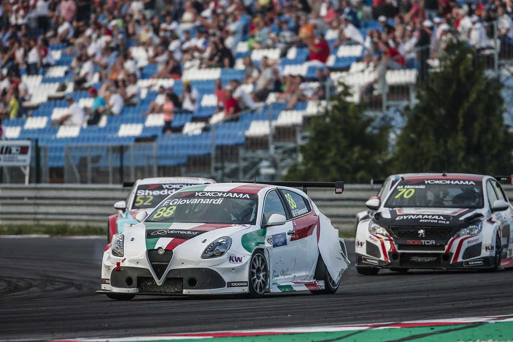 88 GIOVANARDI Fabrizio, (ita), Alfa Romeo Giulietta TCR team Mulsanne, action during the 2018 FIA WTCR World Touring Car cup race of Slovakia at Slovakia Ring, from july 13 to 15 - Photo Jean Michel Le Meur / DPPI
