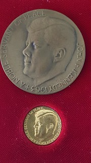 1963 Kennedy Noble Servant Medals