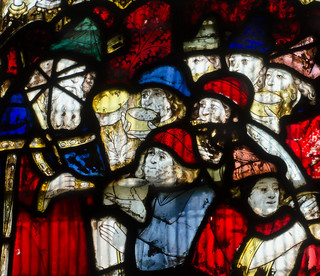 Great Malvern Priory Window s5 detail 1b