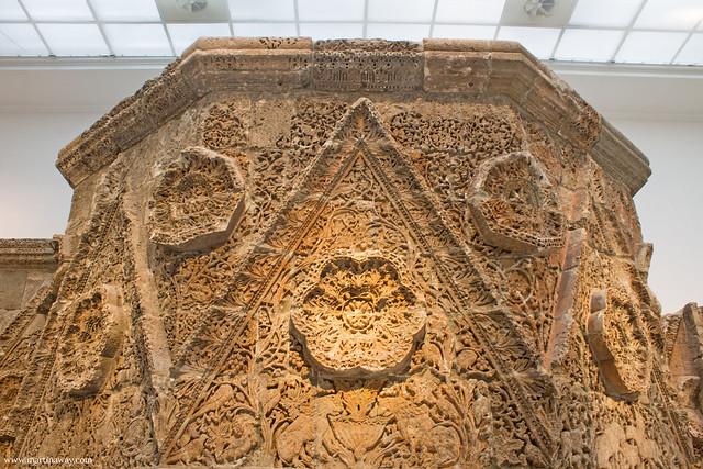 Facciata del palazzo della città di Mchatta, Pergamonmuseum