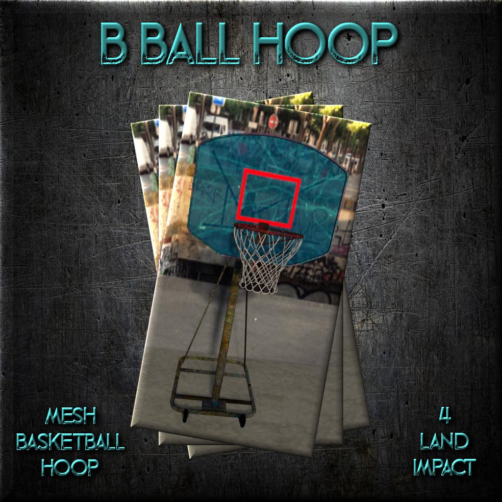 +FH+ B Ball Hoop - TeleportHub.com Live!