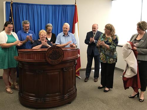 City Podium Unveiling Ceremony 06-19-2018