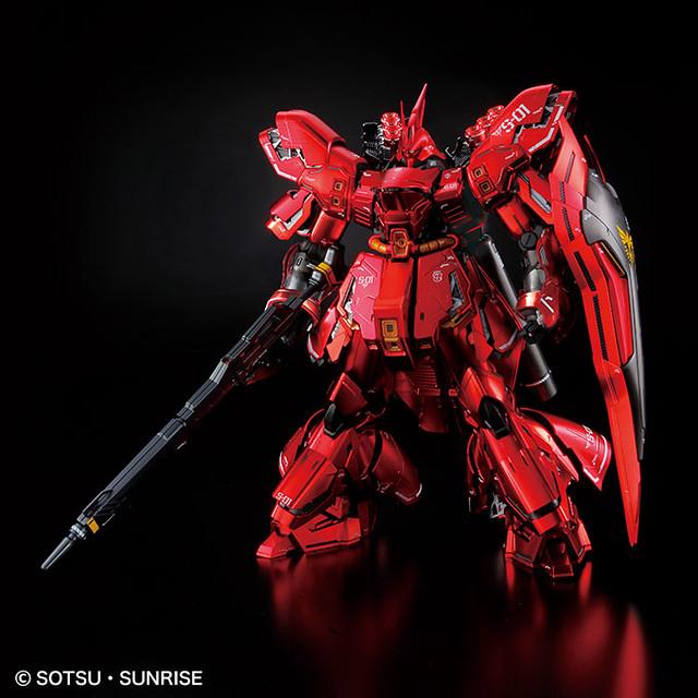 【更新官圖】MG 1/100《機動戰士鋼彈 逆襲的夏亞》MSN-04 沙薩比 Ver.Ka [特殊鍍膜版] サザビー Ver.Ka [スペシャルコーティング] 【GUNDAM BASE限定】