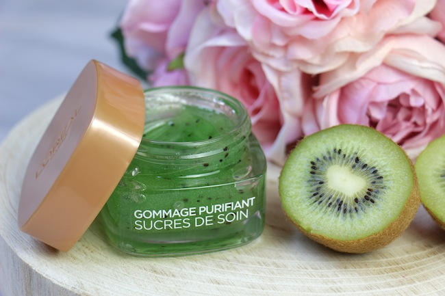 gommage-purifiant-sucres-soin-kiwi-loreal-blog-mode-la-rochelle-1