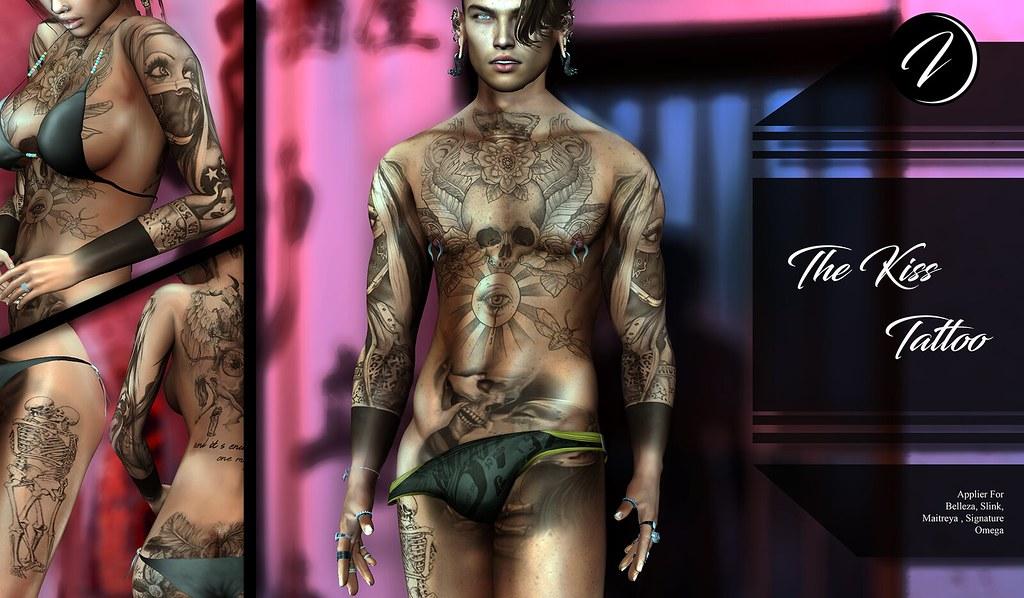 ..:: INKer ::.. TheKiss Tattoo - TeleportHub.com Live!