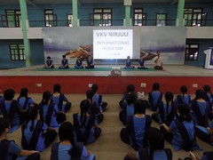 Yoga Day Celebration conducted in VKV Nirjuli