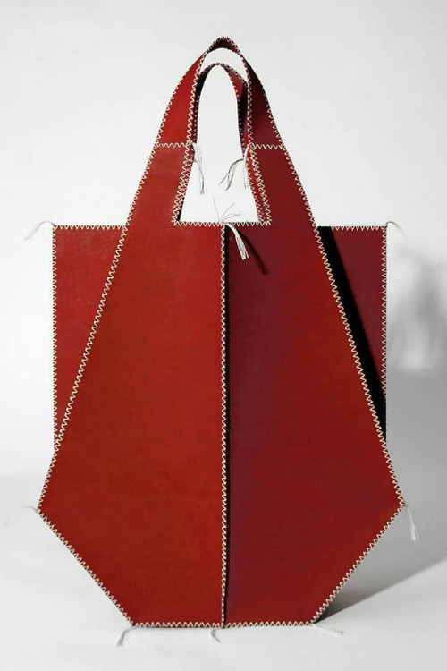 LIVALIKE Red Tote Bag 306