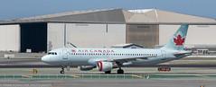 Air Canada Airbus at KSFO