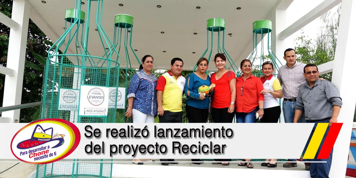 Se realizó lanzamiento del proyecto Reciclar