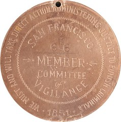 Possible Committee of Vigilance medal 1