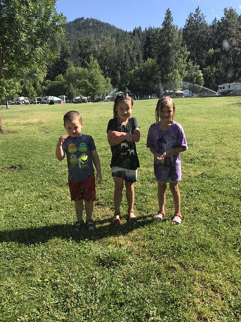 Robinson Family Campout, 2018 – Kylan and Kristen