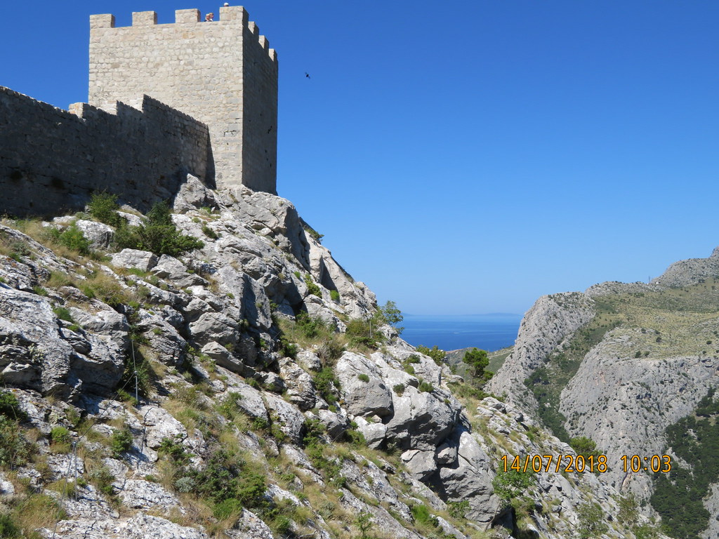 Omiš Starigrad fortress