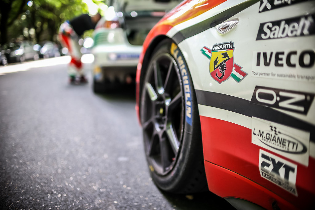 ABARTH during the 2018 European Rally Championship ERC Rally di Roma Capitale,  from july 20 to 22 , at Fiuggi, Italia - Photo Thomas Fenetre / DPPI
